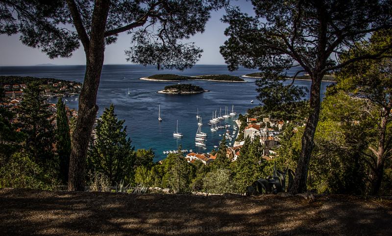 ...view of Hvar...