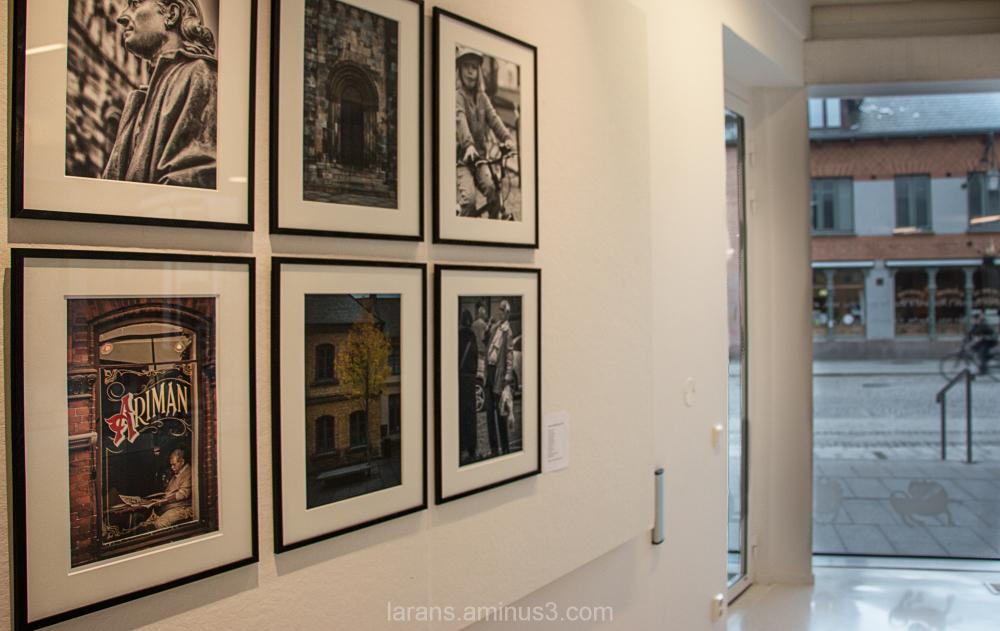 ...utställning Photowalkbilder Lund 2013...