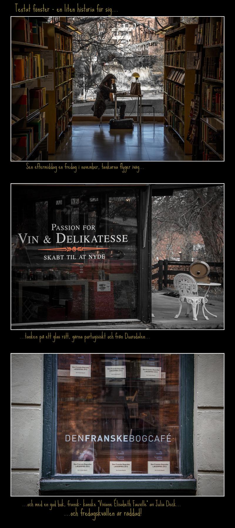 ...textat fönster...