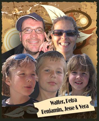 Walter, Petra, Jesse, Benjamin & Vera