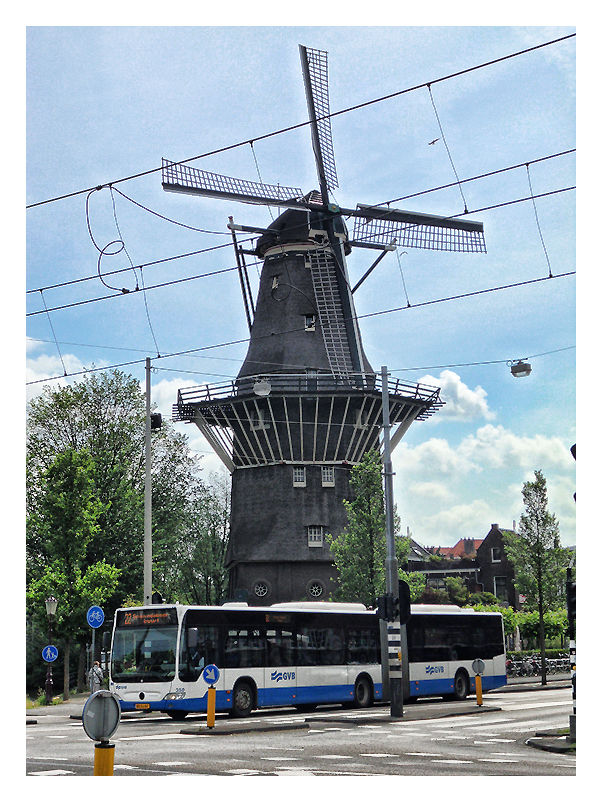 The Biggest Mill In Amsterdam