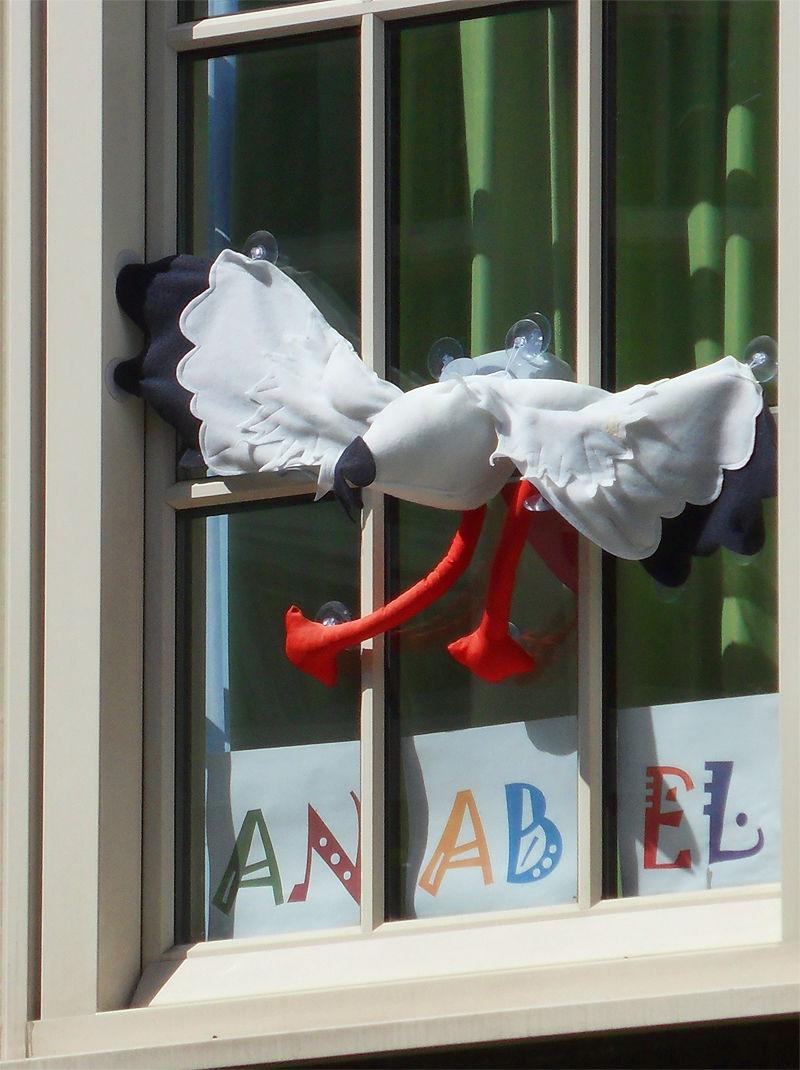 Strange Story - The Stork & The Baby