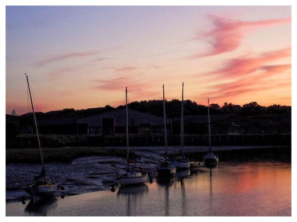 Sunset...