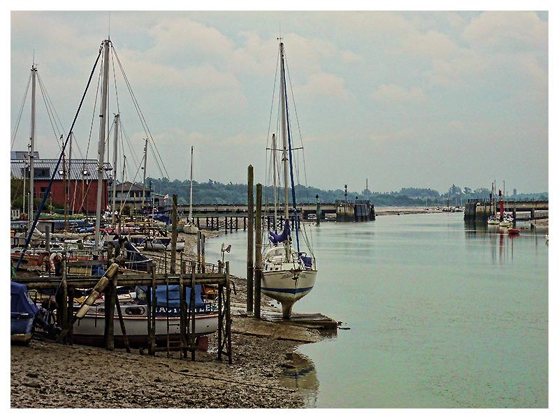 Wivenhoe Harbour, Essex