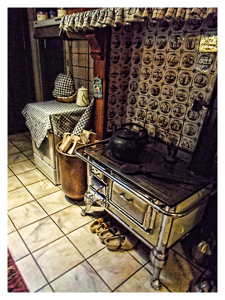 The Old Stove...