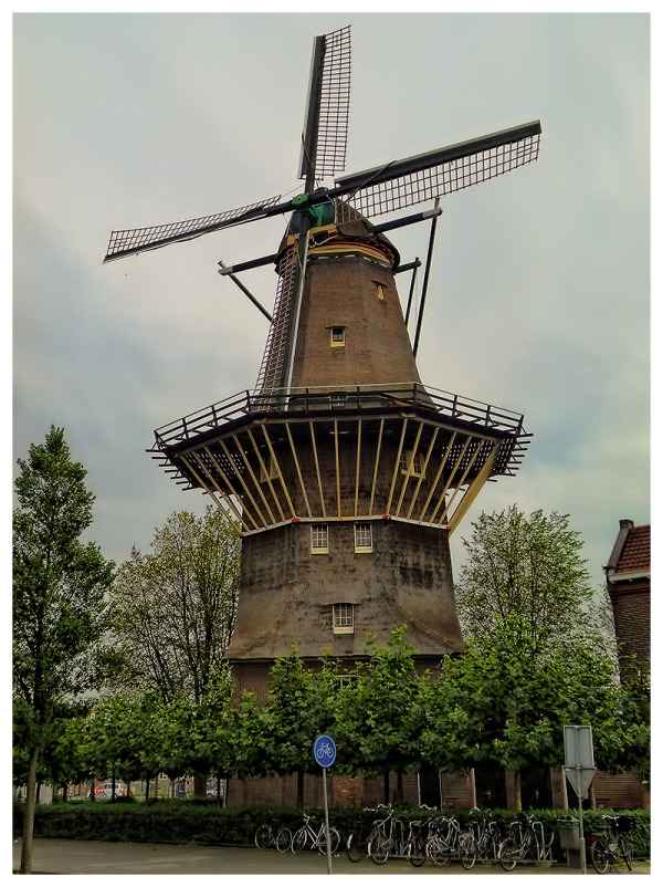 "The Mill ""De Gooyer"" - Amsterdam"