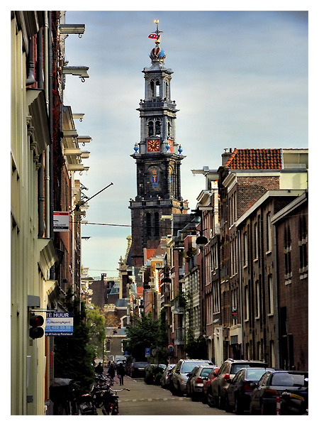 "View On The ""Westerkerk"", Amsterdam"