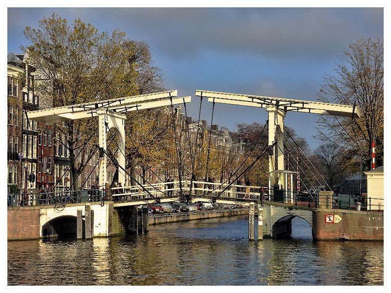 One Of Amsterdam's Bridges