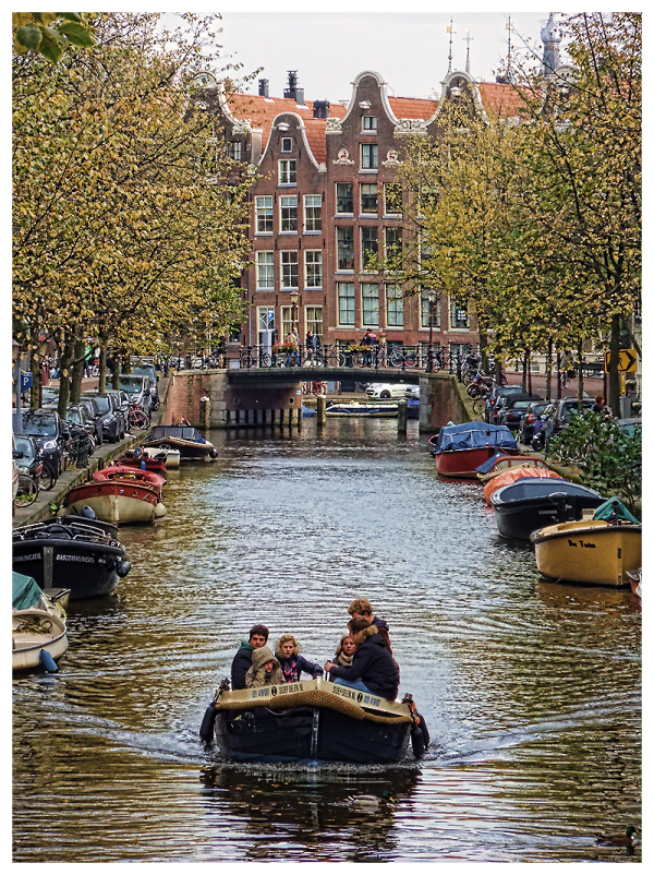 One Of Amsterdam's Canals