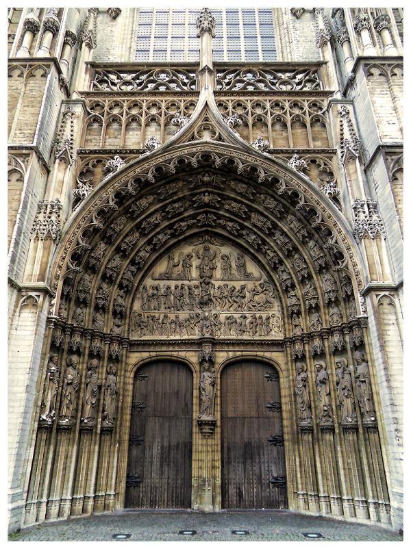 Church Entrance, Antwerpen, Belgium