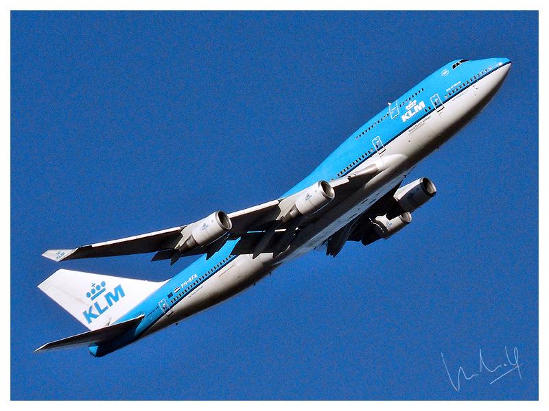 KLM, Boeing 747 - 400