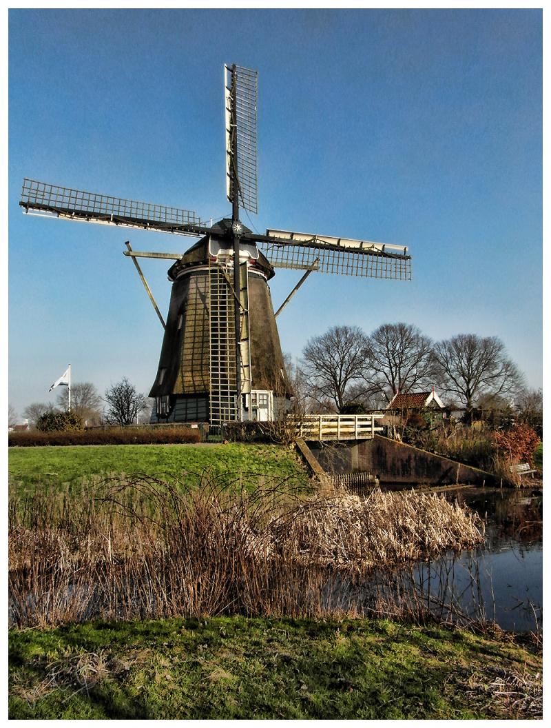Old Mill at Buitenveldert, Amsterdam