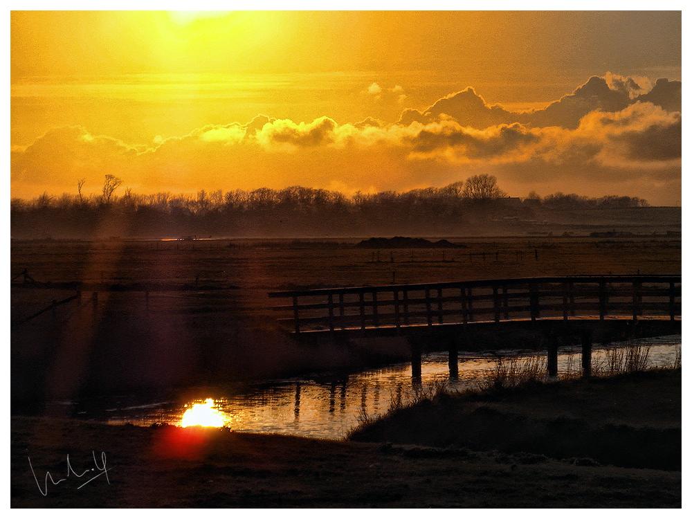 Sunset, Texel