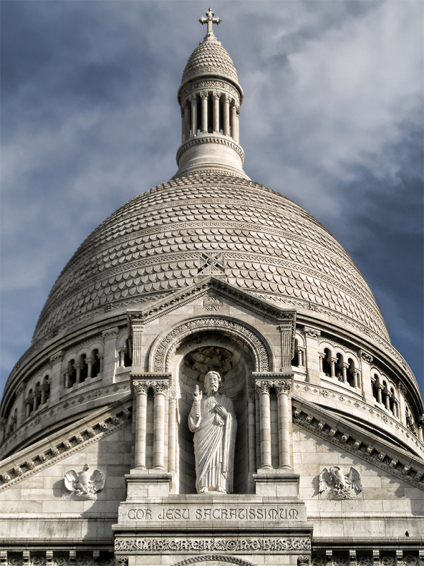 La Basilique du Sacré Coeur de Montmartre