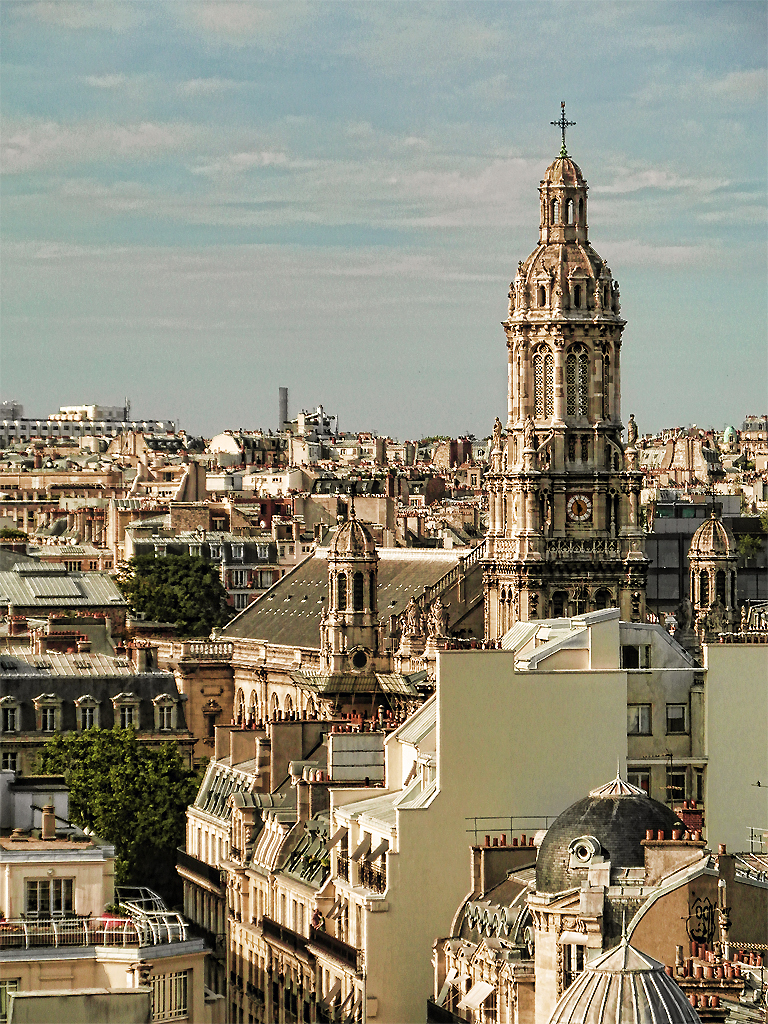 A view on the city, Paris