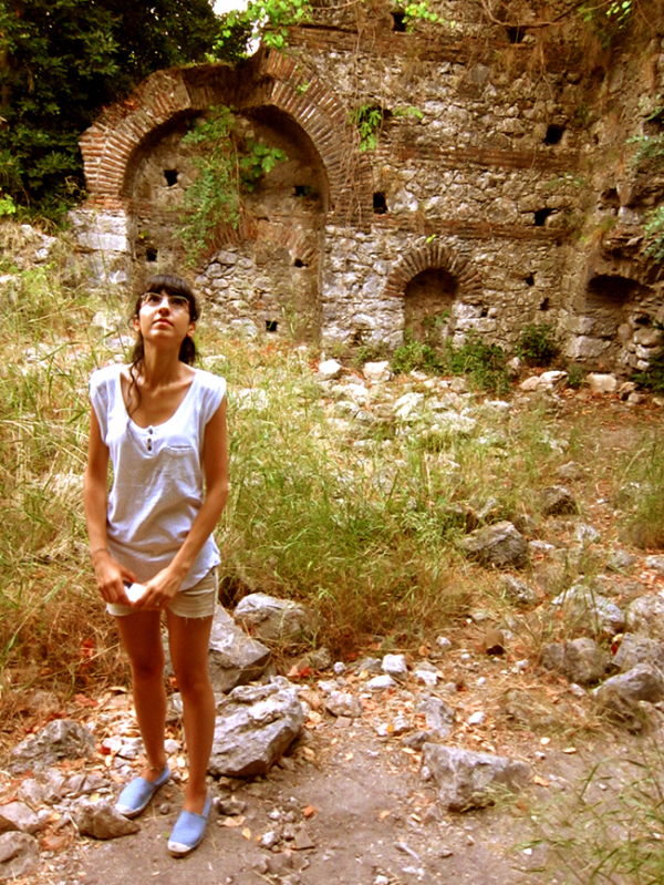 ilham exporing ancient city of olympos