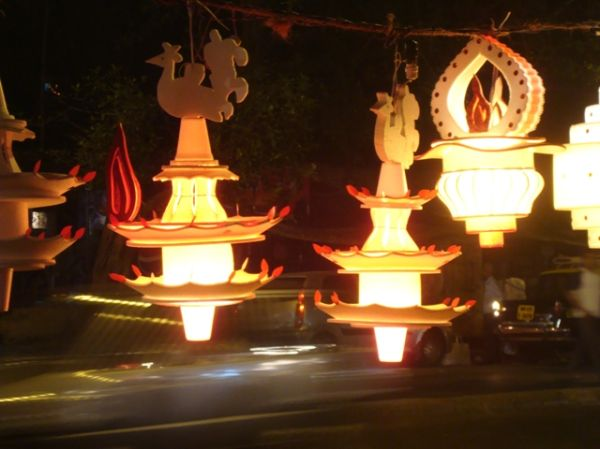 lamps from diwali