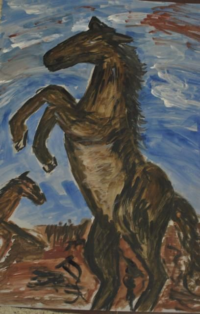 Equus - my second painting