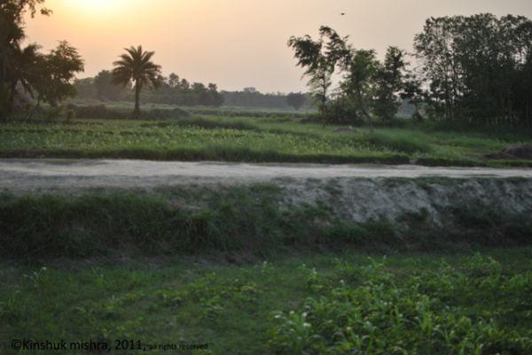 evening at my village - I