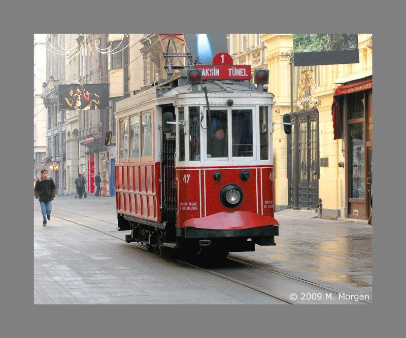 Turkish Streetcar Istanbul
