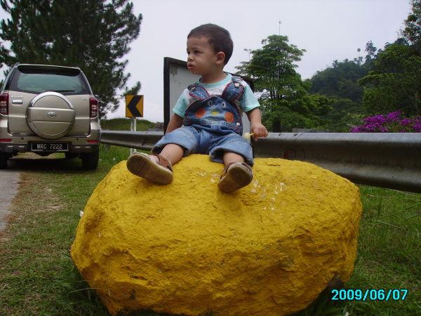 Mahdiar on the Rock