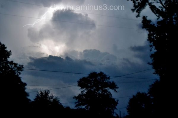 Lightning shot on April 27