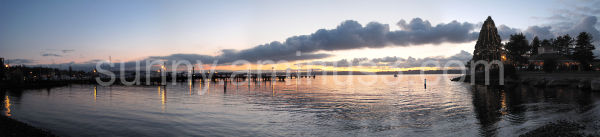 Sunset in Kirkland