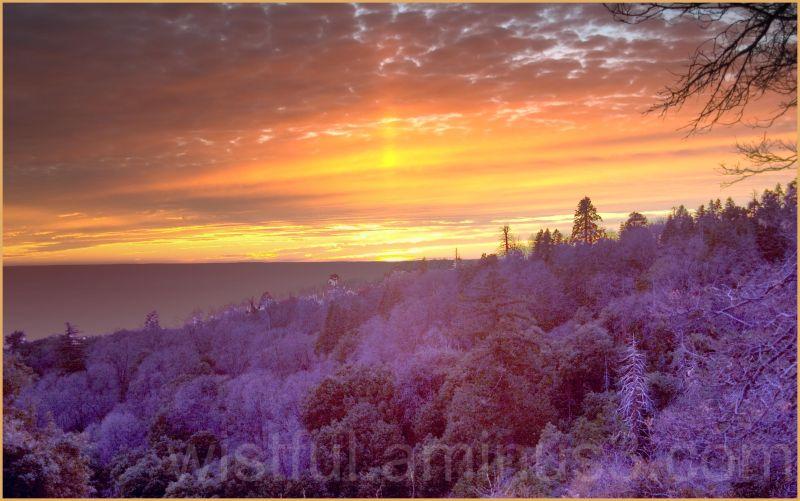 Sunset at Mt. Palomar