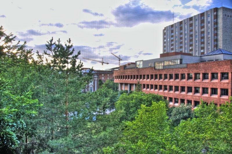HUB Mall, University of Alberta