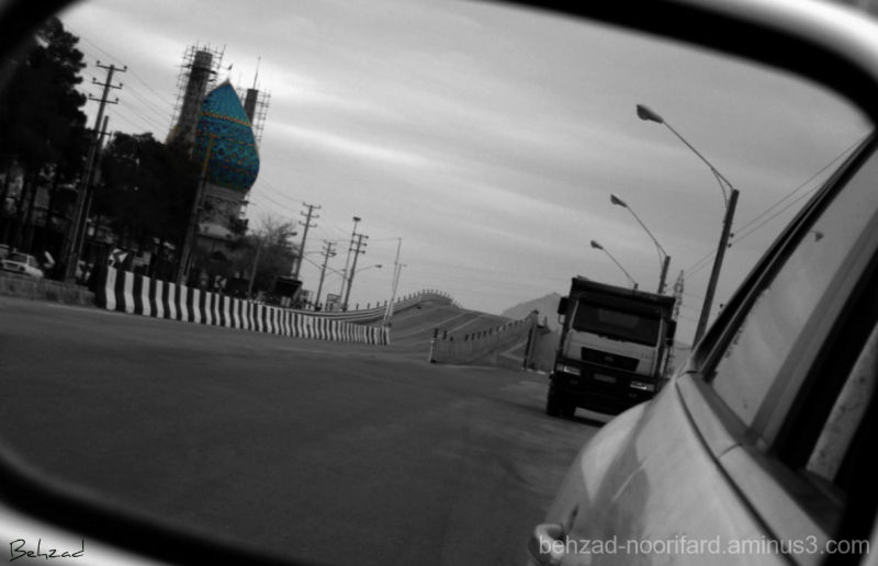 Im Drive And Looking Back ......... :)