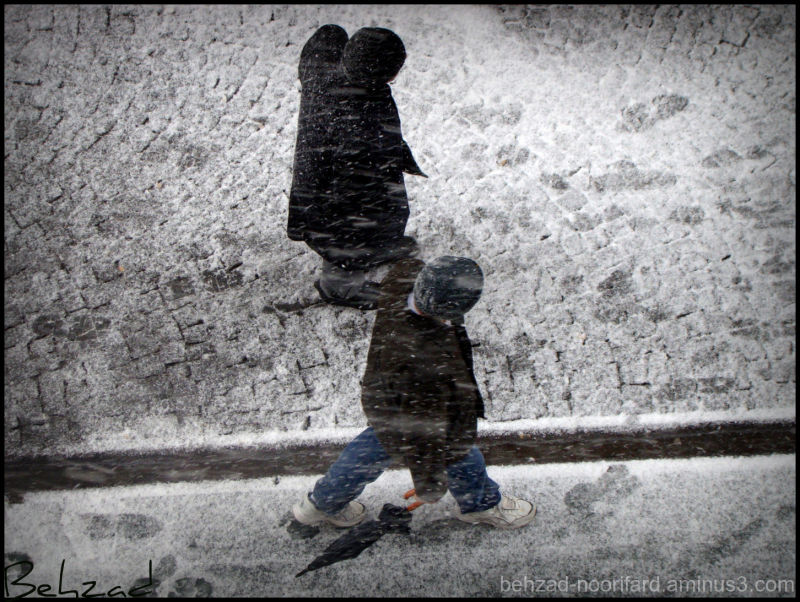 Snow Day In Istanbul Türkei