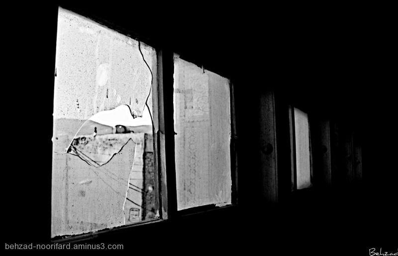 Broken Window In dark Life