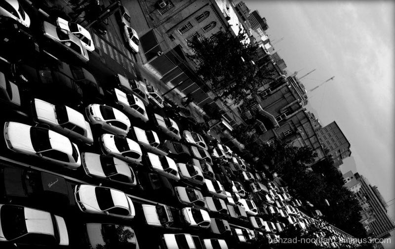 Traffic in Tehran ترافیک در تهران