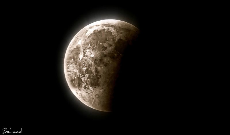 Eclipse Moon16/06/2011      ماه گرفتگی