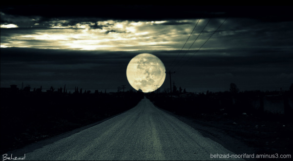 The road to moon