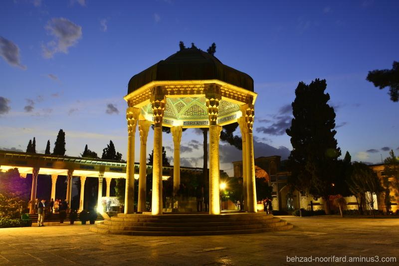 Tomb of Hafez Shirazi آرامگاه حافظ شیرازی
