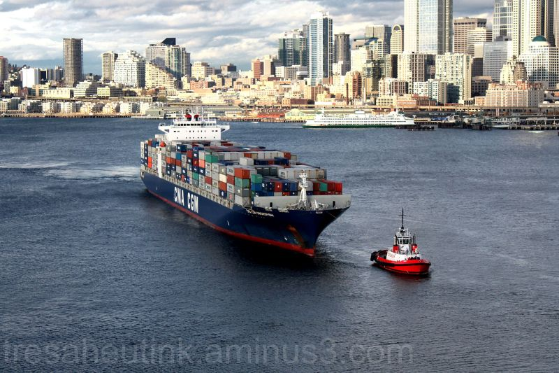 Crowley Tug- Port of Seattle