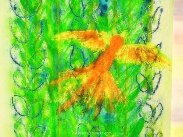 Le phénix (orange)