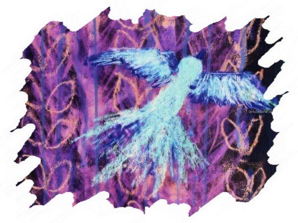 Le phénix (bleu) - Cadre 4