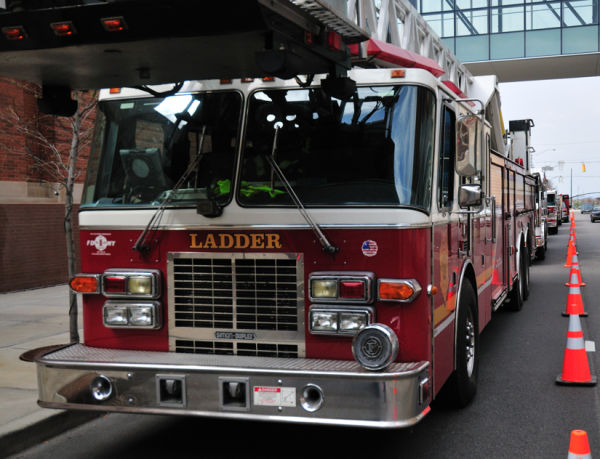 Fire truck.