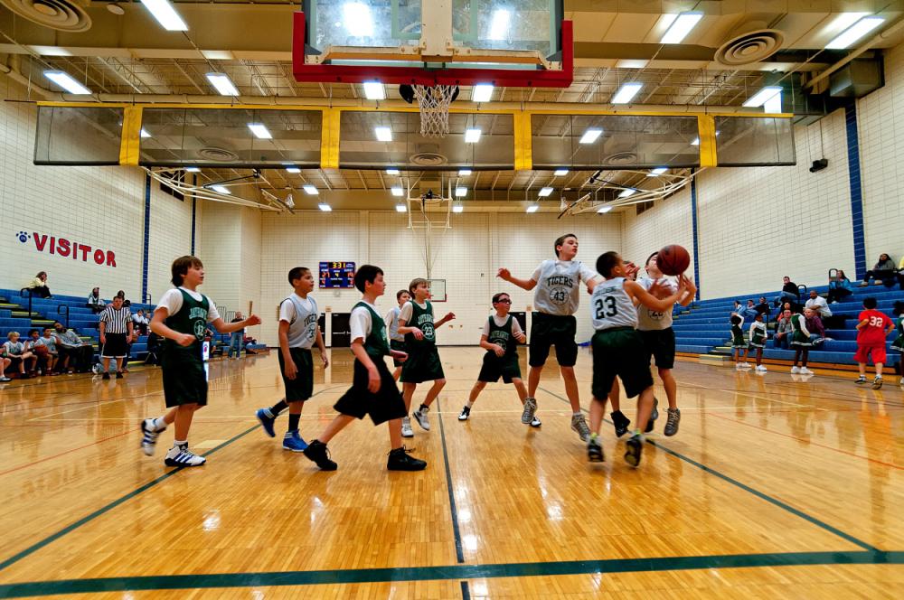 Lawrence Township Boys Basketball League
