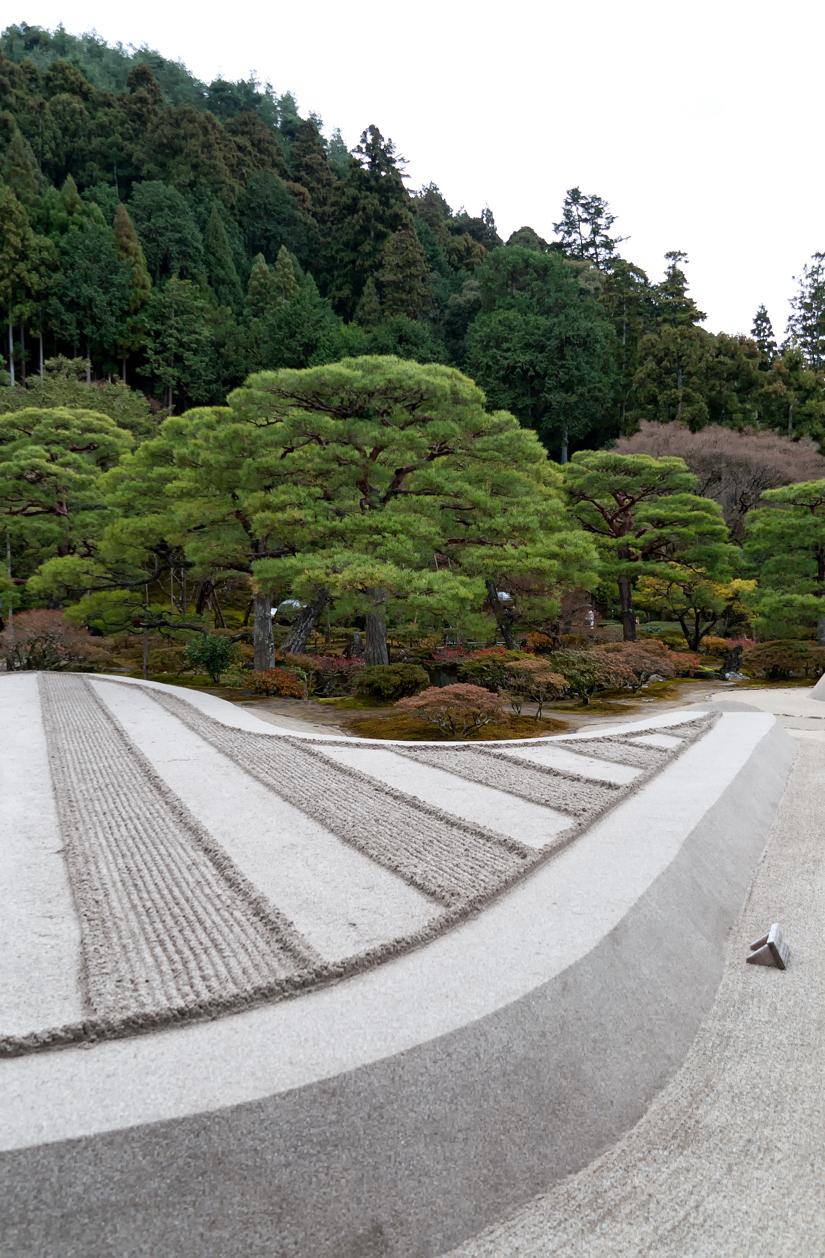 Temple garden.