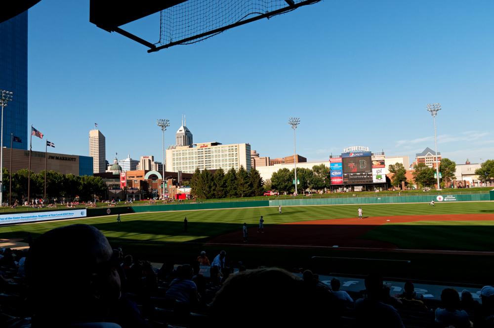 Indy skyline.