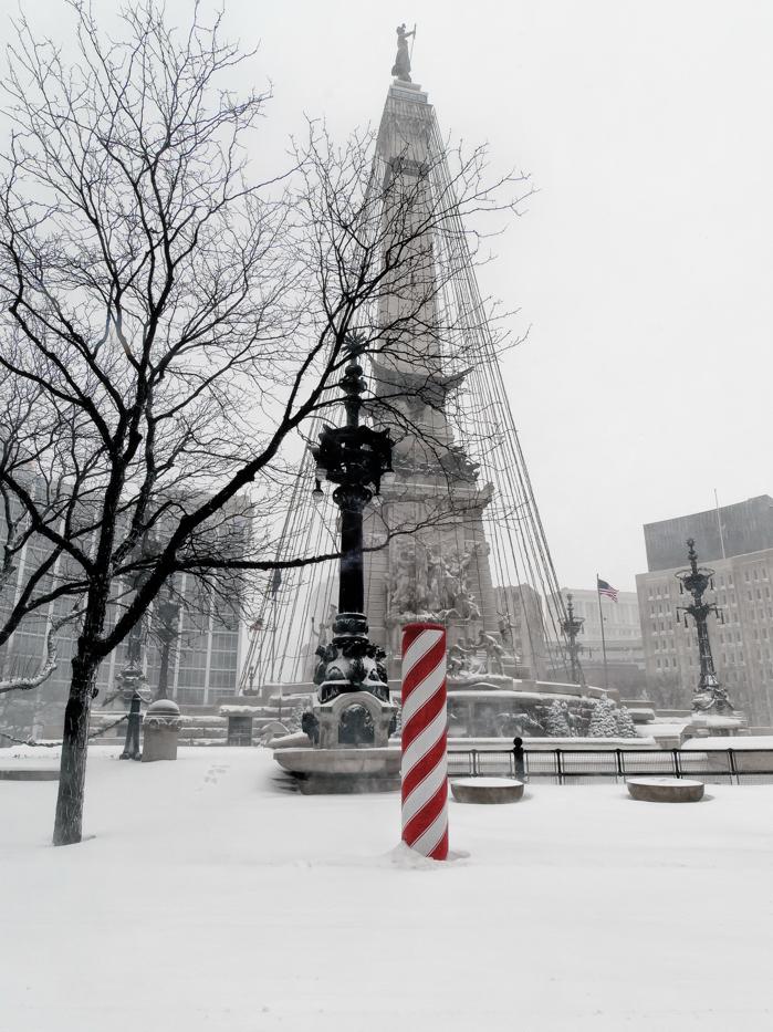 Circle in Snow