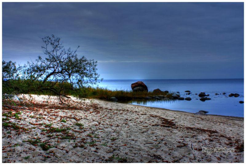 Beach in Kivik