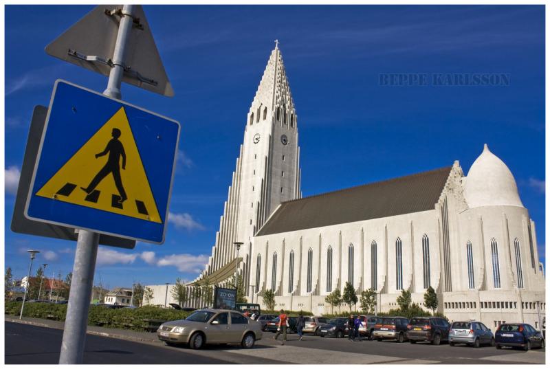 Hallgrimskirkja Reykjavik, Iceland