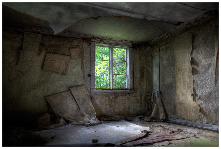 Abandoned house in Småland, Sweden
