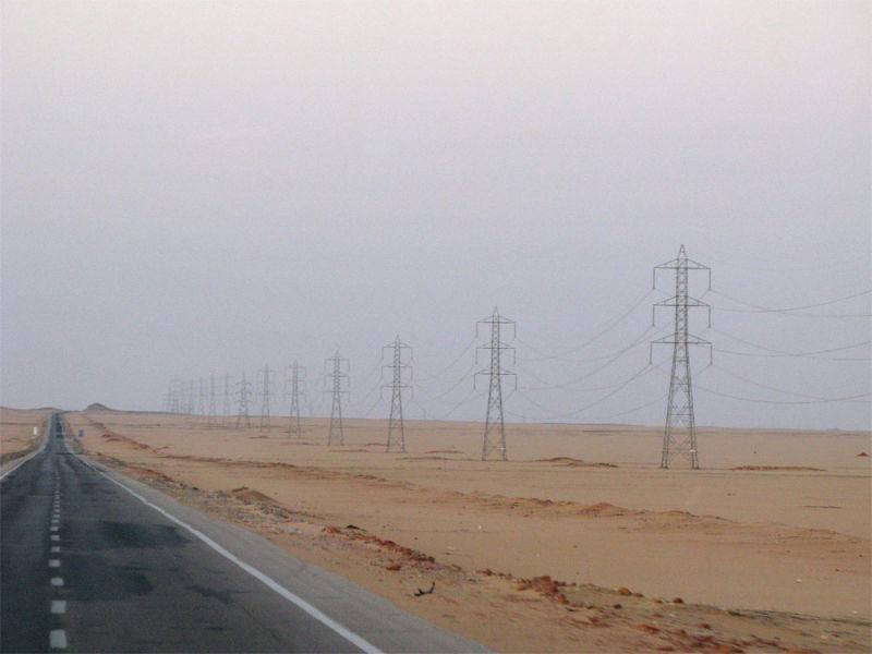 Before sunrise in the desert