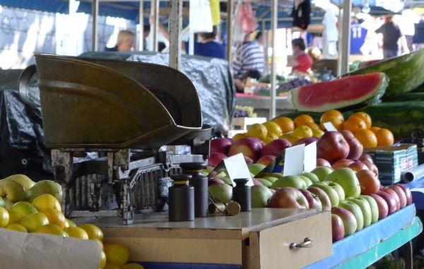 Market in Dubrovnik
