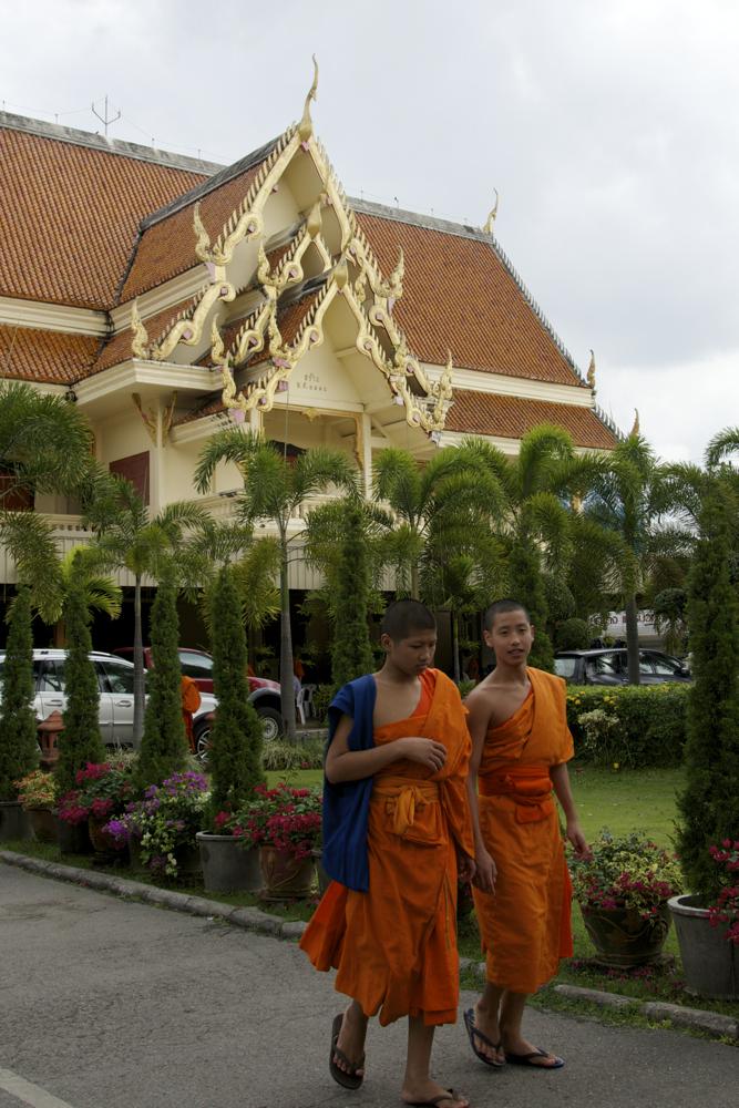 Monjos a Chiang Mai, Tailàndia